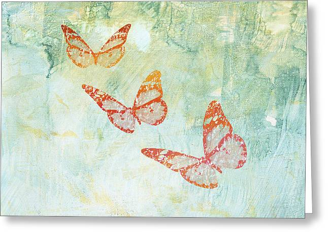 Office Decor Greeting Cards - Harmony Greeting Card by Aged Pixel