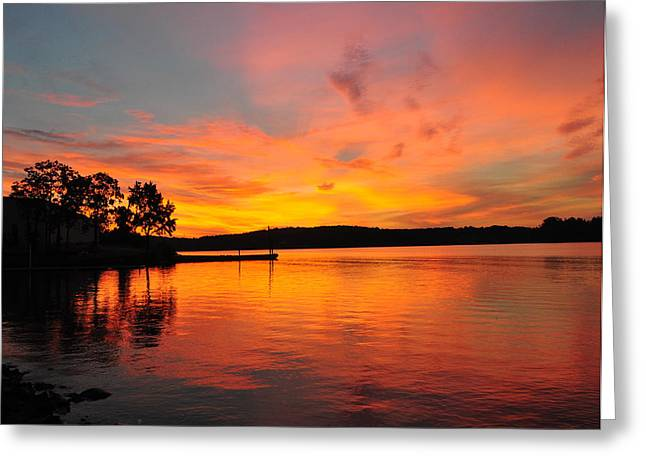 Lake Wylie Greeting Cards - Harmony Greeting Card by Jacque Weir