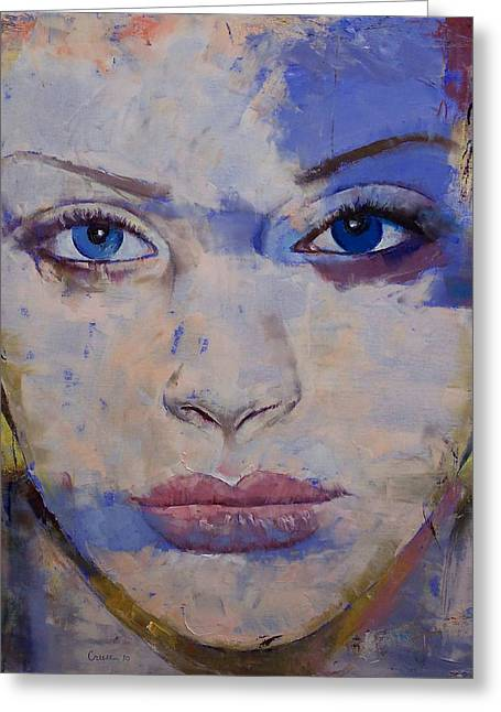 Mujer Greeting Cards - Harmony Greeting Card by Michael Creese