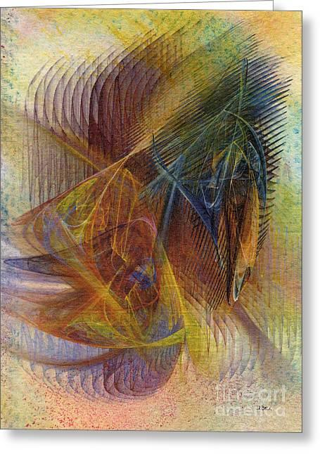 John Robert Beck Greeting Cards - Harnessing Reason Greeting Card by John Robert Beck