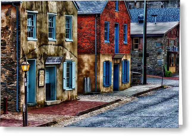 Harpers Ferry Greeting Cards - Harper Ferry West Virginia Greeting Card by Mountain Dreams