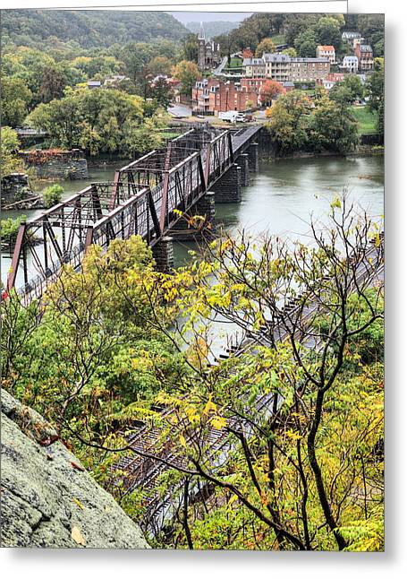 Harpers Ferry Greeting Cards - Harpers Ferry Greeting Card by JC Findley