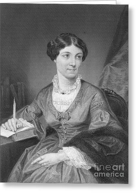 Sociologists Greeting Cards - Harriet Martineau, English Socialogist Greeting Card by Photo Researchers