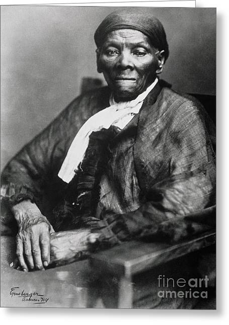 Tubman Greeting Cards - Harriet Tubman  Greeting Card by American School