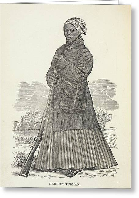 Harriet Tubman Greeting Card by British Library