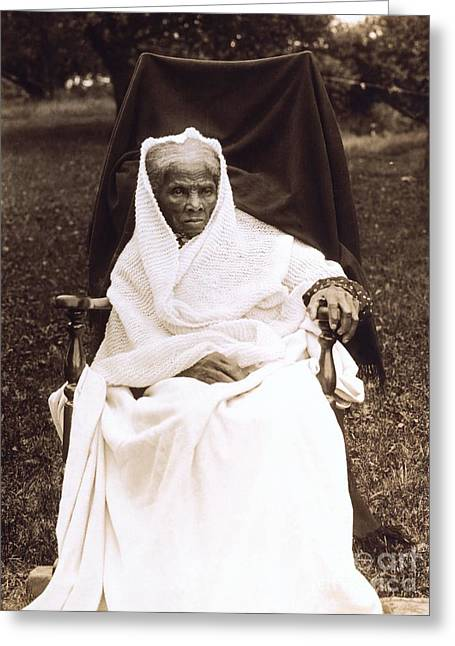 Abolitionist Greeting Cards - Harriet Tubman Portrait 1911  Greeting Card by Unknown