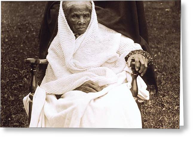 Harriet Tubman Portrait 1911  Greeting Card by Unknown