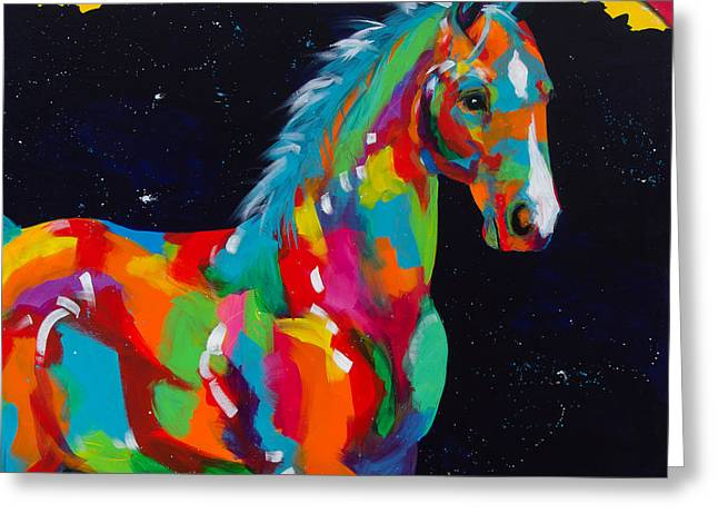 Colorado Artist Tracy Miller Greeting Cards - Harris Greeting Card by Tracy Miller