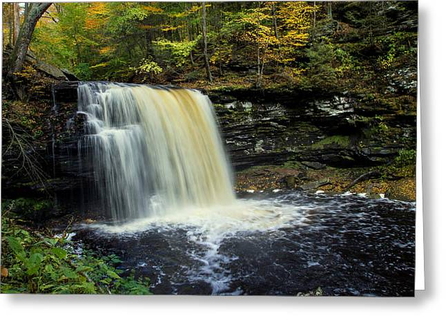 J. Harrison Greeting Cards - Harrison Wright Falls Greeting Card by J Allen