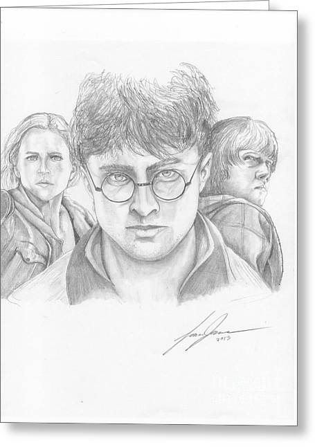 Harry And Friends Greeting Card by Lance James