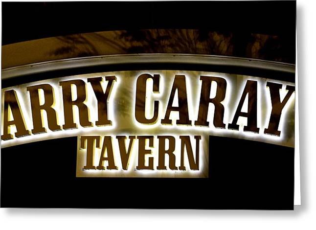 Announcer Greeting Cards - Harry Carays Tavern Greeting Card by Frozen in Time Fine Art Photography