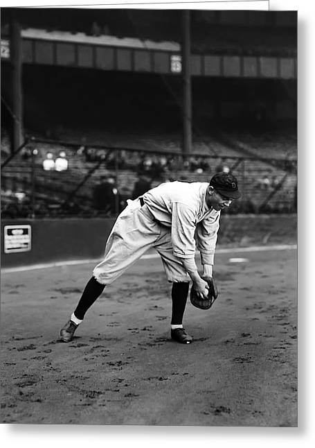 Detroit Tigers Photos Greeting Cards - Harry E. Heilmann Greeting Card by Retro Images Archive