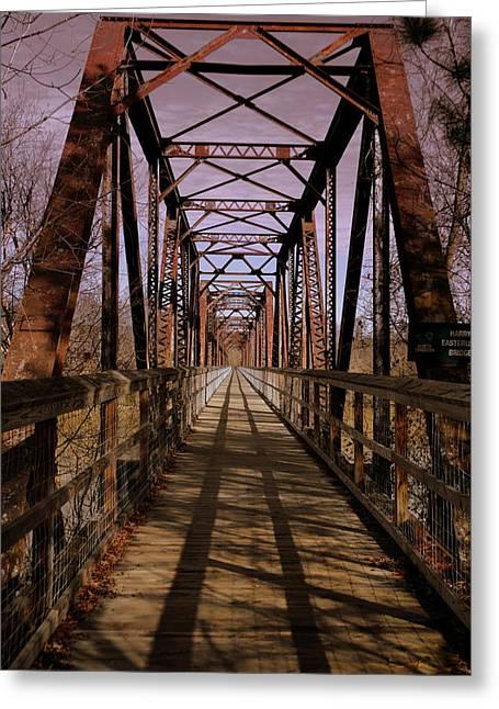 Harry Easterling Bridge Peak Sc Greeting Card by Lisa Wooten