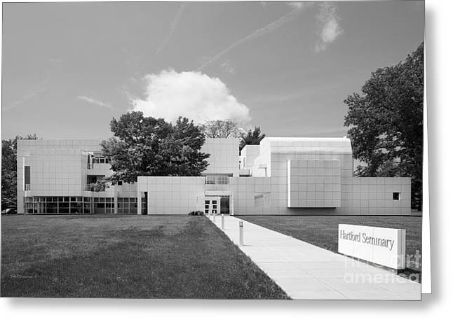 Ct Greeting Cards - Hartford Seminary Greeting Card by University Icons