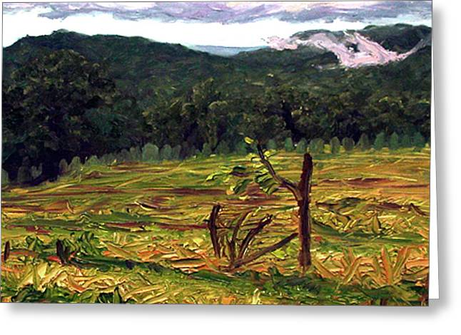 Conservative Greeting Cards - Harvest Greeting Card by Kenneth Cobb