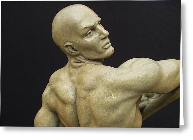 Recently Sold -  - Greek Sculpture Greeting Cards - Harvest Greeting Card by Seth Vandable