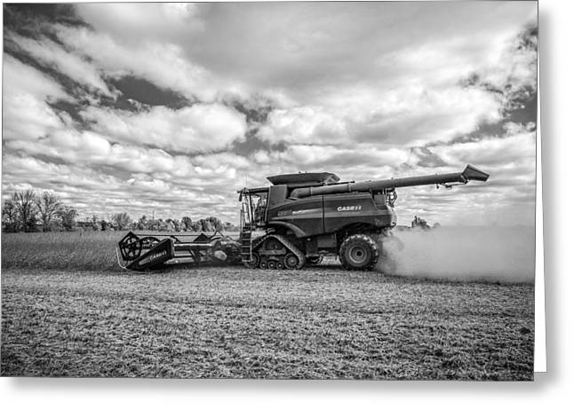Harvest Time Photographs Greeting Cards - Harvest Time Greeting Card by Dale Kincaid