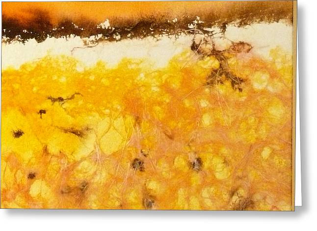 Harvest Time Paintings Greeting Cards - Harvest Time Greeting Card by Deb Babcock