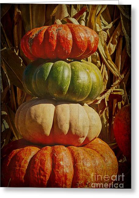 Catherine Greeting Cards - Harvest Tower Greeting Card by Catherine Fenner