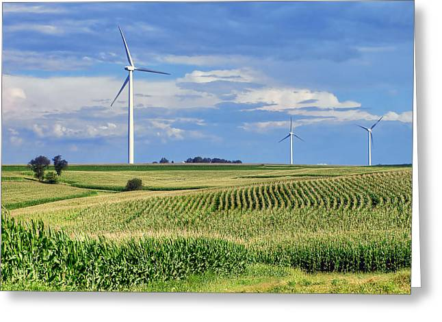Best Sellers -  - Power Plants Greeting Cards - Harvests Greeting Card by Nikolyn McDonald