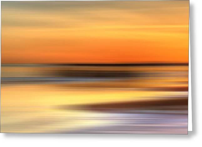 Seaside Digital Greeting Cards - Hastings Pier abstract Greeting Card by Sharon Lisa Clarke
