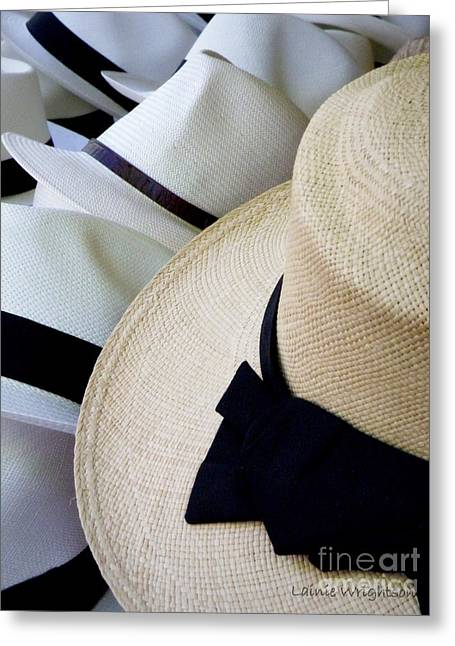Lainie Wrightson Greeting Cards - Hats Off To You Greeting Card by Lainie Wrightson