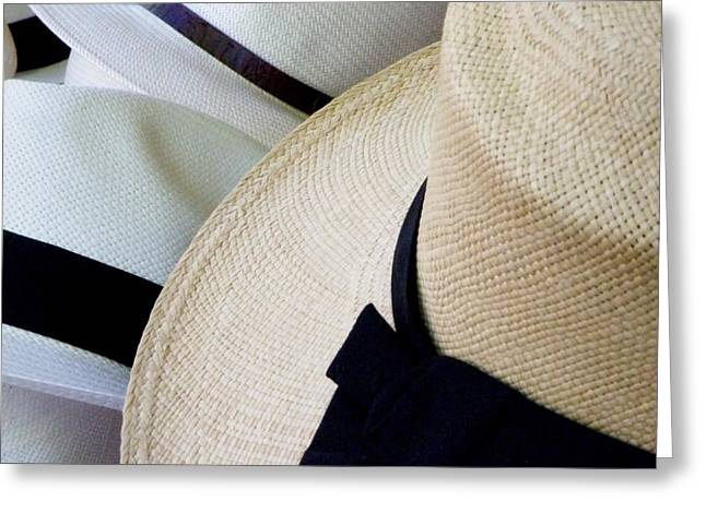 Hats Off To You Greeting Card by Lainie Wrightson