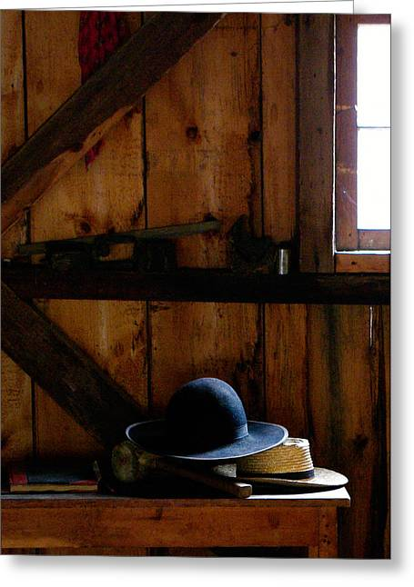 Paul Wash Greeting Cards - Hats Greeting Card by Paul Wash