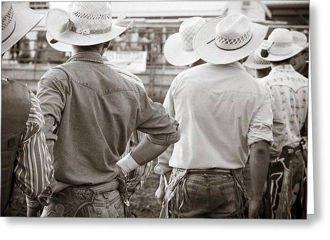 Saddle Greeting Cards - Hats Plus Greeting Card by Steven Bateson