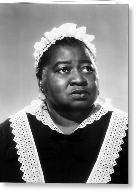 Gone Greeting Cards - Hattie McDaniel in Gone with the Wind  Greeting Card by Silver Screen