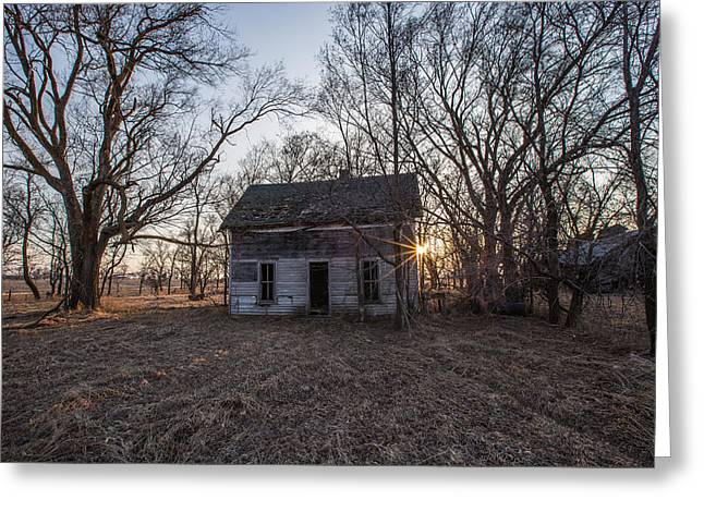 Forget Greeting Cards - Haunted 2 Greeting Card by Aaron J Groen