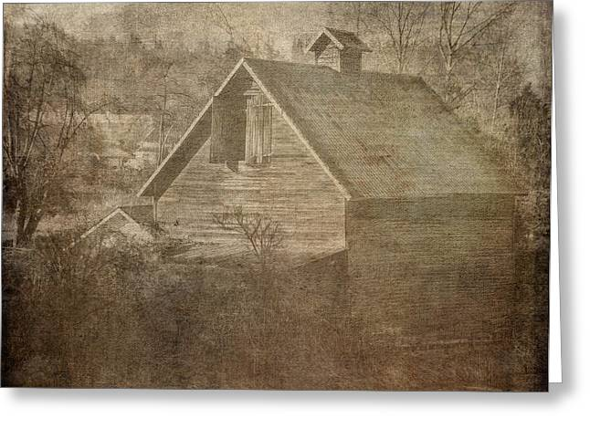 Ron Roberts Photography Greeting Cards - Haunted Barn Greeting Card by Ron Roberts
