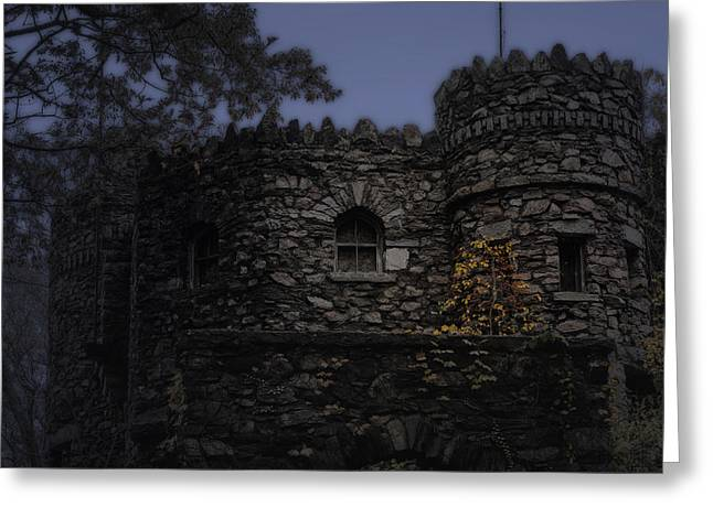 Haunted Castle Greeting Cards - Haunted Castle Greeting Card by Bill  Wakeley