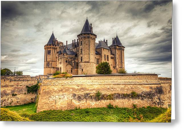 Recently Sold -  - Chateau Greeting Cards - Haunted Castle Greeting Card by Joshua McDonough