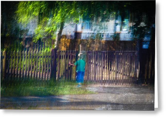 Impressionist Photography Greeting Cards - Haunted Greeting Card by Constance Fein Harding