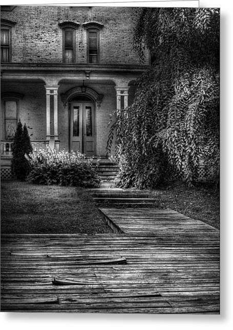 Haunted - Haunted II Greeting Card by Mike Savad