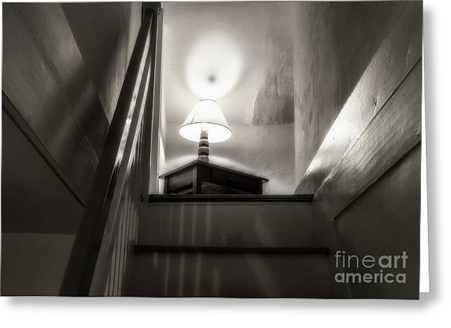 Muted Greeting Cards - Haunted House Greeting Card by John Greim