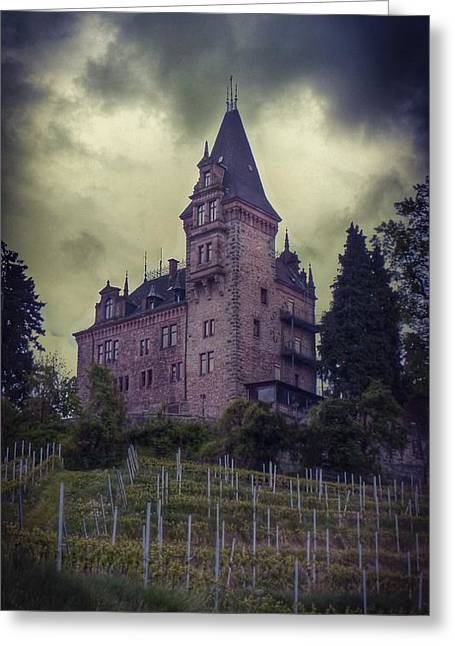 Canon Greeting Cards - Haunted  Greeting Card by Noze P