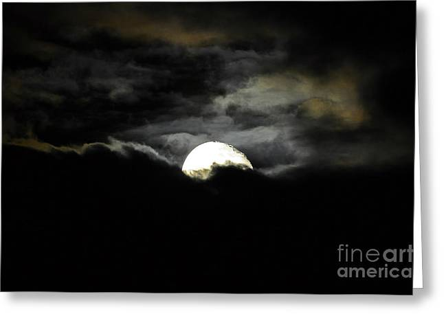 Hallows Greeting Cards - Haunting Horizon Greeting Card by Al Powell Photography USA