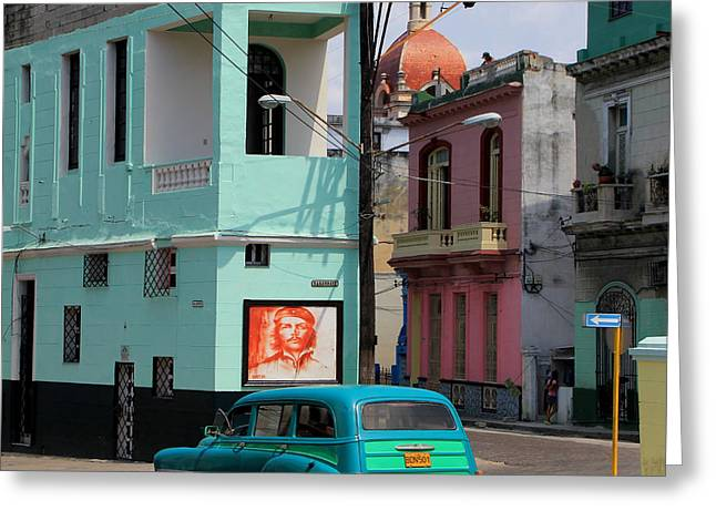 Havana Greeting Cards - Havana 36 Greeting Card by Andrew Fare