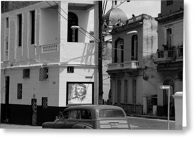 Station Wagon Greeting Cards - Havana 36c Greeting Card by Andrew Fare