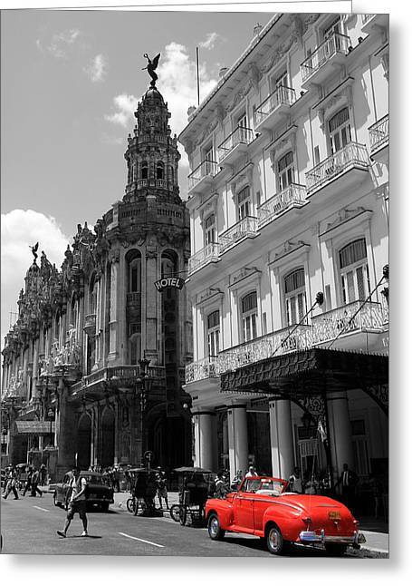 Havana Greeting Cards - Havana 5 Greeting Card by Andrew Fare