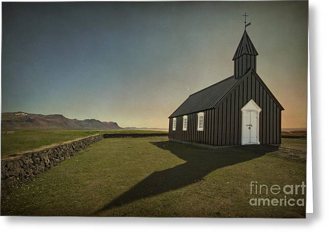 Icelandic Greeting Cards - Have A Little Faith Greeting Card by Evelina Kremsdorf