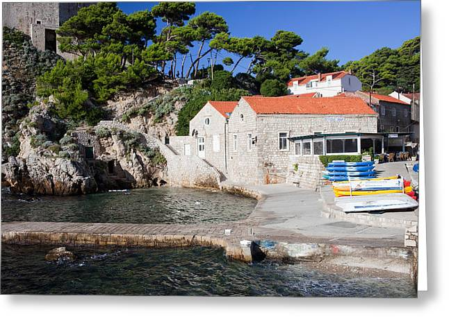 Rent House Greeting Cards - Haven in Dubrovnik Greeting Card by Artur Bogacki