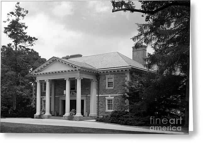 Haverford College Photographs Greeting Cards - Haverford College Roberts Hall Greeting Card by University Icons