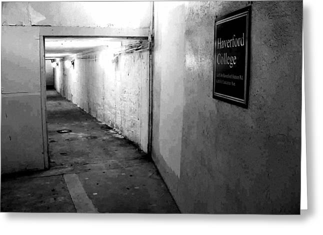 Haverford Greeting Cards - Haverford Station Greeting Card by Chuck Bryant