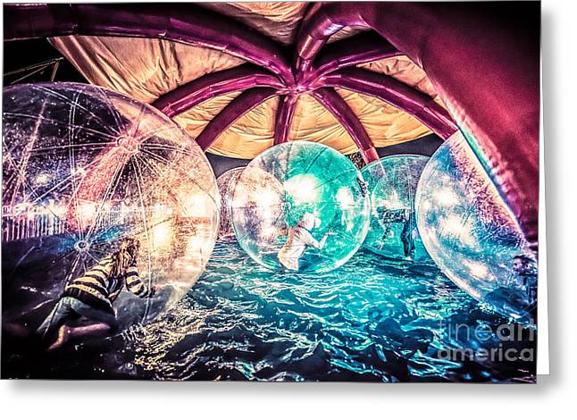 Rotate Greeting Cards - Having a Ball Greeting Card by Ray Warren