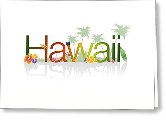 Family Vacation Greeting Cards - Hawaii Greeting Card by Aged Pixel