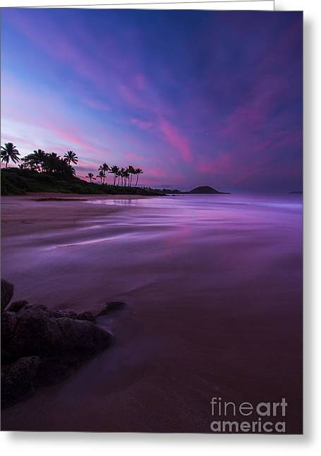 First Sunset Greeting Cards - Hawaii First Light Sunrise Greeting Card by Dustin K Ryan