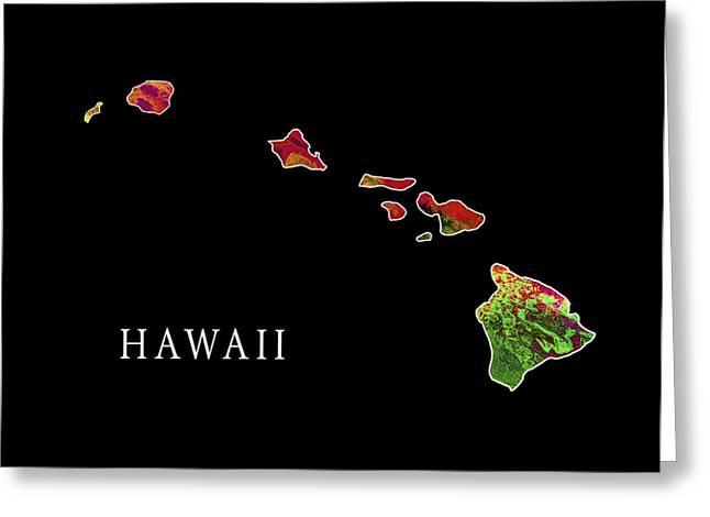 Niihau Hawaii Greeting Cards - Hawaii State Greeting Card by Daniel Hagerman